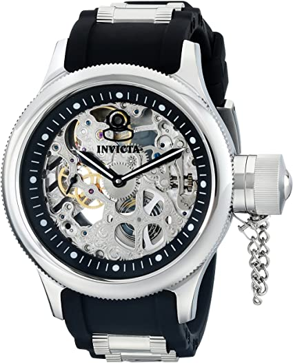 Amazon.com: Invicta Men's 1088 Russian Diver Stainless Steel and .