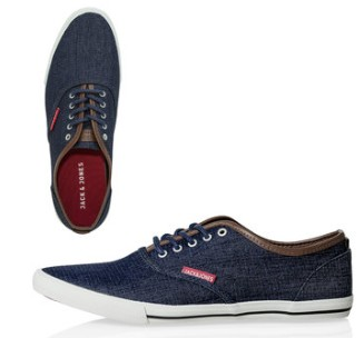 Jack & Jones shoes lowered by 60%, now for only 1580.82 r/s and .