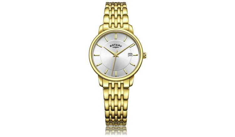 Buy Rotary Ladies Gold Plated Bracelet Watch | Womens watches .