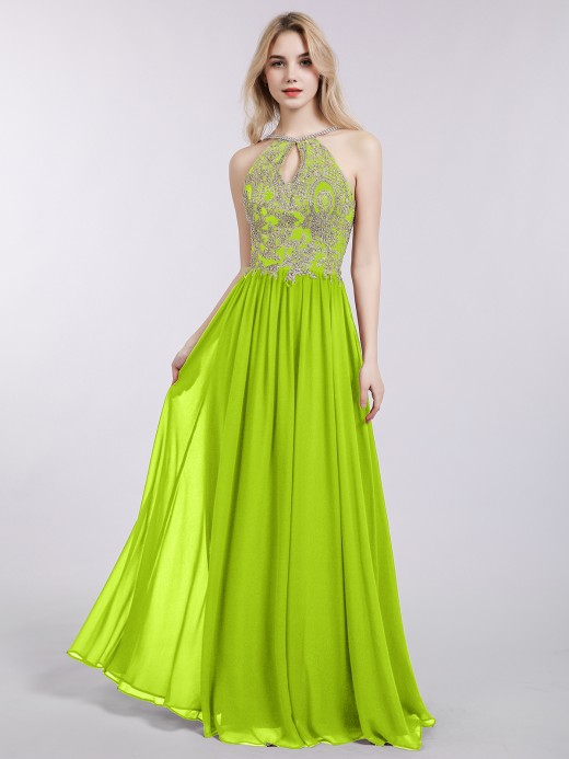 Lime Green Prom Dresses & Gowns , Cheap Prom Dresses | BABARO