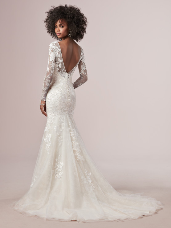 Wedding Dresses and Gowns with Sleeves   Maggie Sotte