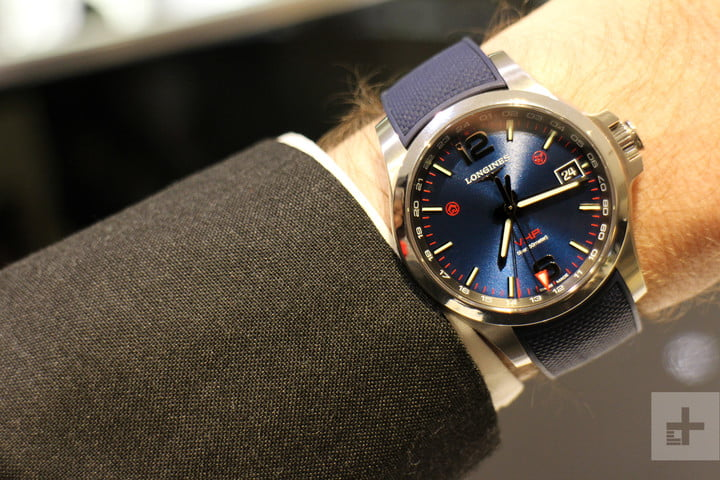 Longines Conquest V.H.P. GMT Watch Takes Accuracy To The Next .