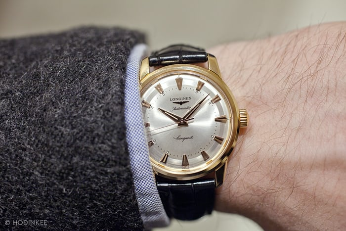 Hands-On: With The Longines Conquest Heritage 1954-2014, A 35mm .