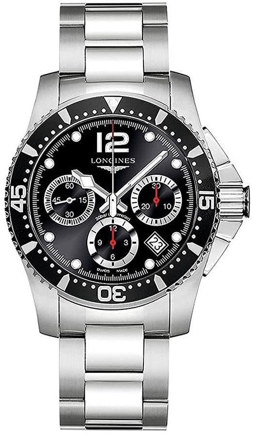 Amazon.com: Longines HydroConquest Stainless Steel Automatic Mens .