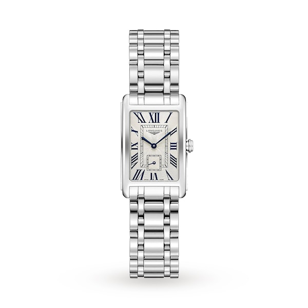 Longines DolceVita 20mm Stainless Steel Ladies Watch L52554716 .