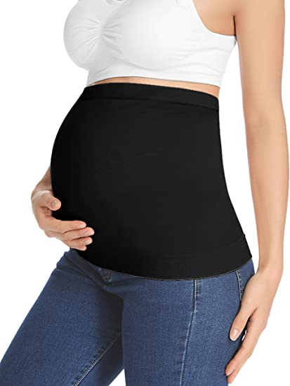 """Peauty""""Included Pants Extender"""" Belly Band Seamless Maternity ."""