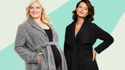 Maternity Coats and Jacket Extenders You Need This Wint