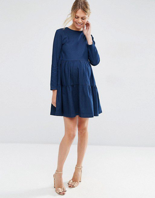 The Best Fall Maternity Dresses Under $100 - The Mama Not