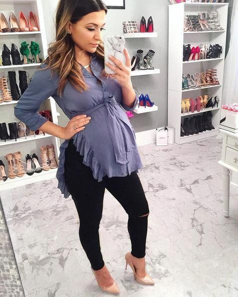 Pin by jessica hurtado on Baby's in 2020   Cute maternity outfits .