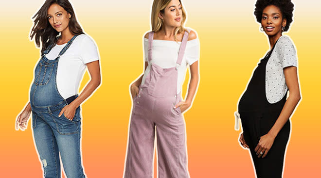24 Maternity Overalls That Are Perfect for Summer 20