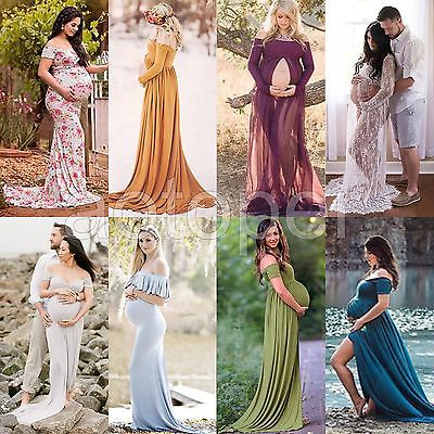 Sexy Gown Maternity Maxi Dress Wedding Party Dresses Pregnant .