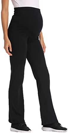 Foucome Maternity Yoga Pants for Women High Waisted Workout .