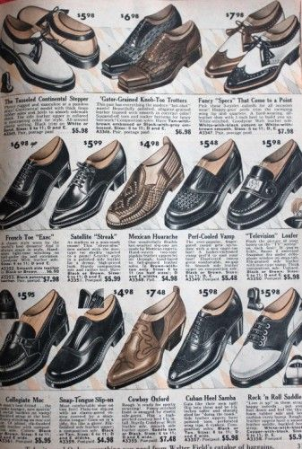 All About Mens 1950s Shoes Styles   1950s shoes, 1950s fashion .