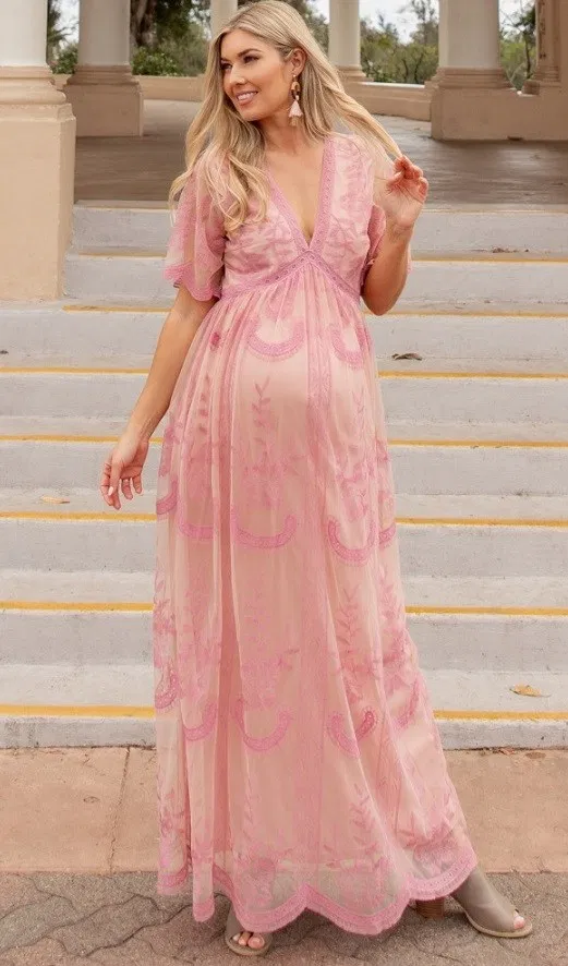 Pin on Maternity Maxi Dress, Find The Perfect Long Maternity Dress