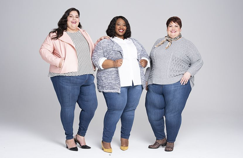 Plus Size Skinny Jeans at Every Size | Plus size skinny jeans .