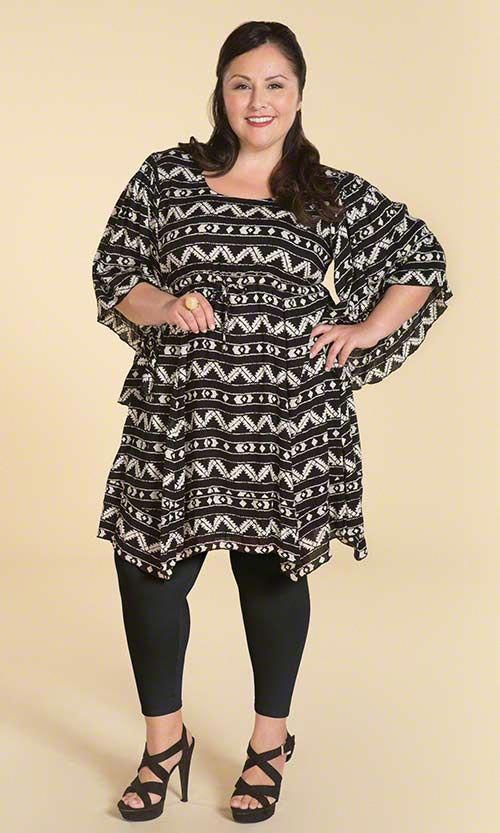Curvy Plus Size Legging Outfits | Plus Size Outfit Ideas With .