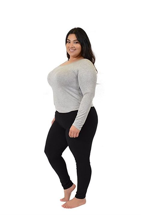 7 dress with leggings plus size outfits - curvyoutfits.c