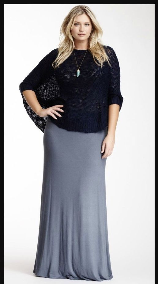 How to wear a maxi skirt plus size. | Skirt outfits modest, Maxi .