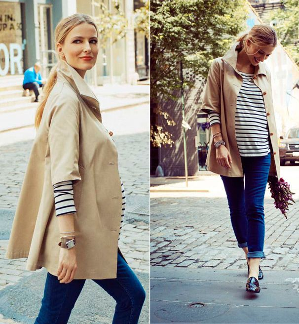 Motherhood Mondays: French-Inspired Maternity Clothes | A Cup of .