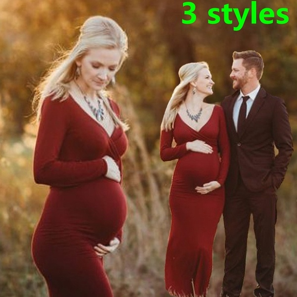 Maternity Photography Dress Fancy Pregnancy Clothes Photo Shoot .