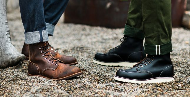 Red Wing Heritage Boots | Genuine Leather Boots For Men & Women .