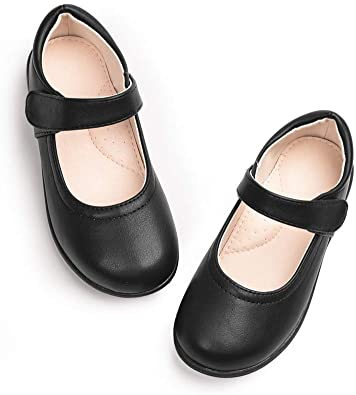 Amazon.com: STELLE Girls Mary Jane Flats School Shoes for Students .