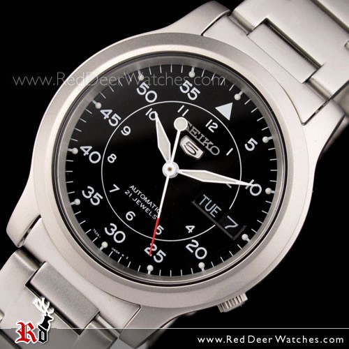 BUY Seiko 5 Military Automatic Watch See-thru Back SNK809K1 - Buy .