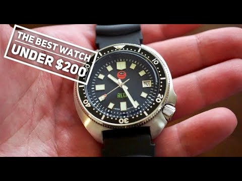 Oceanica Reef 200M Dive Watch Review - Best Diver Under $200 .