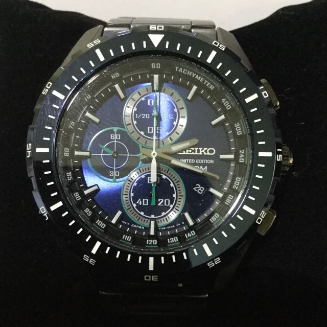Preowned Seiko Limited Edition Cal 7T92 Watch, Men's Fashion on .