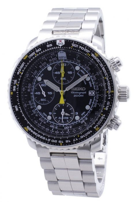 Seiko Flightmaster SNA411P1 Review & Complete Guide - Millenary .