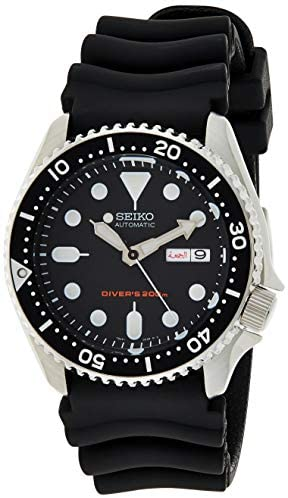 Amazon.com: Seiko Men's Automatic Analogue Watch with Rubber Strap .
