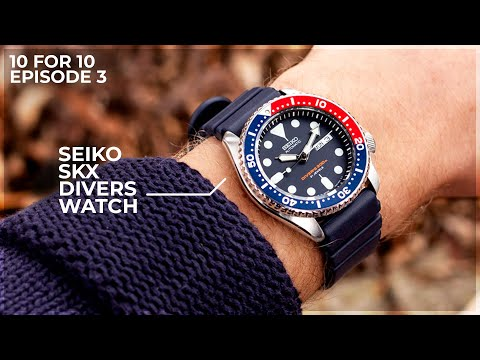 Why The Seiko SKX is The Go To Beater Watch - The Seiko SKX009J1 .