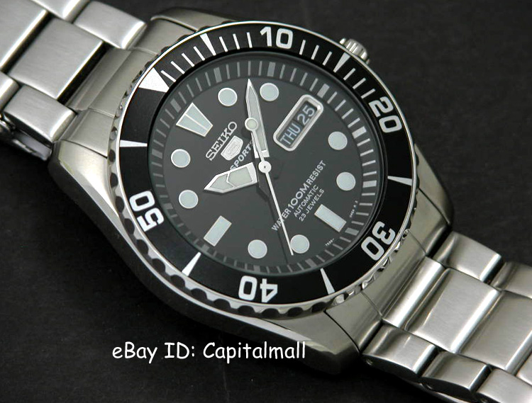 """Seiko SNZF17K1 """"Sea Urchin"""" Is Your Ultimate Submariner Styled ."""