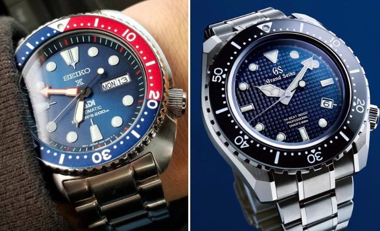 The Differences Between Seiko and Grand Seiko Watches .