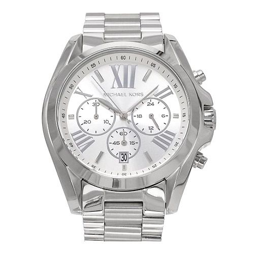 MICHAEL KORS WATCH for MEN * Brand New * Silver * Multi-Function .