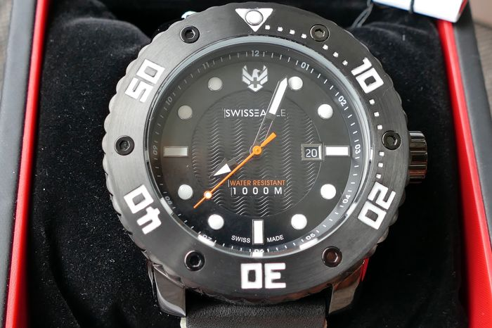 Swiss Eagle Abyss, men's diving watch, 2017, never worn, - Catawi