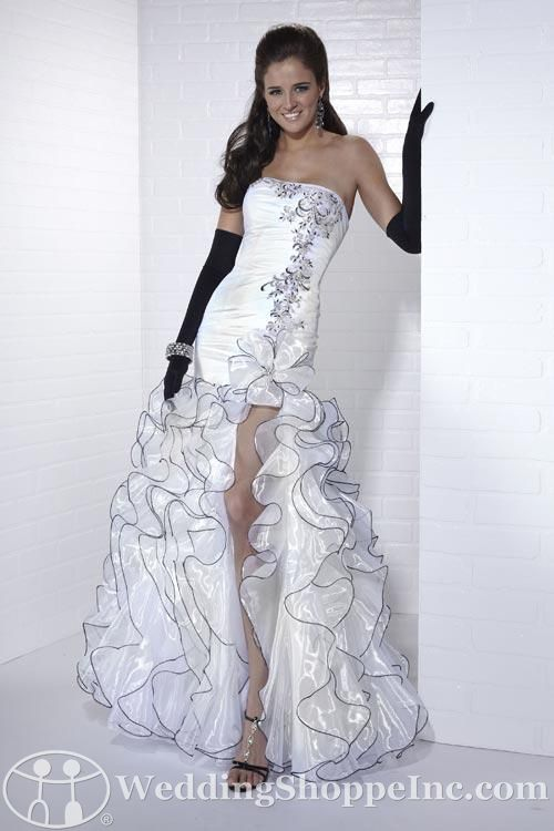 Black and White and Fabulous All Over: Tiffany Prom Dresses .