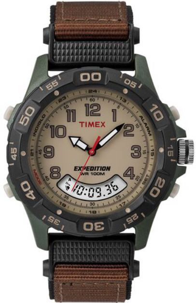 Men's Timex Expedition Resin Combo Watch T451