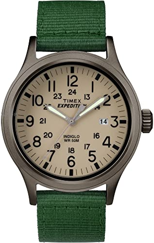 Amazon.com: Timex #TW4B06800 Men's Expedition Scout Military .