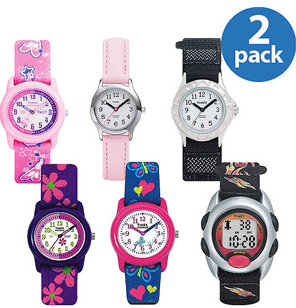 Kids Timex Watches $13.50 + Mor