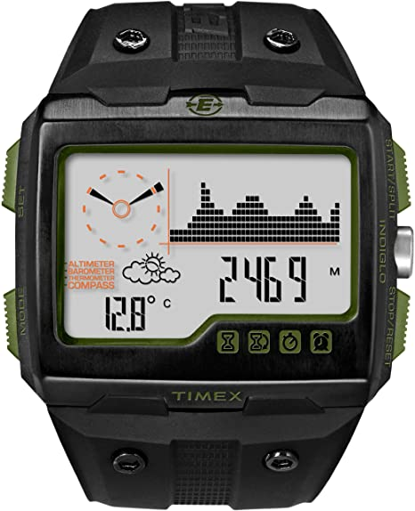 Expedition WS4 Watch Black/Green 000 by Timex Corporation: Amazon .