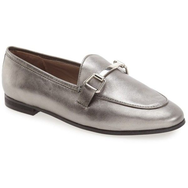 TOPSHOP Bit Loafer (360.925 IDR) ❤ liked on Polyvore featuring .
