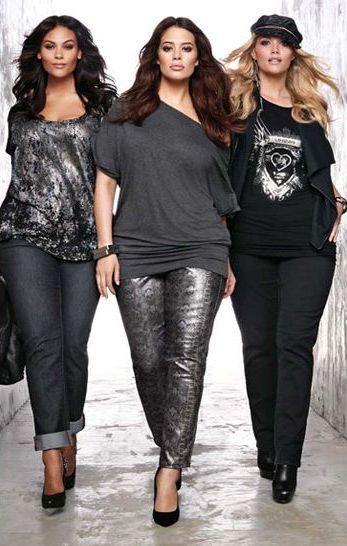 Their jeans! Those tops! Done right & they know it! Plus size .