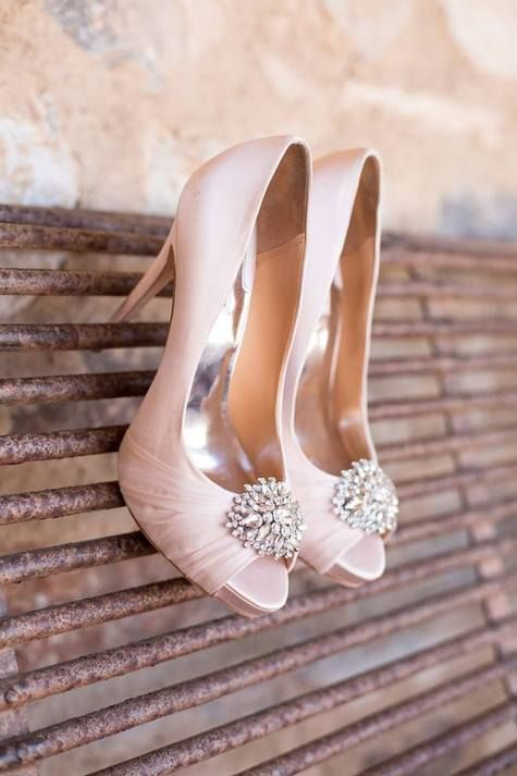 How to Submit Weddings to The Knot | Pink wedding shoes, Blush .