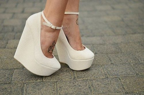 White Wedge Shoes Pictures, Photos, and Images for Facebook .