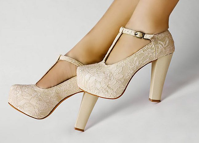 What Is Special About Wedge Wedding Shoes? - StyleSkier.c